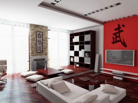 Sala com decoração oriental (Foto Ilustrativa)