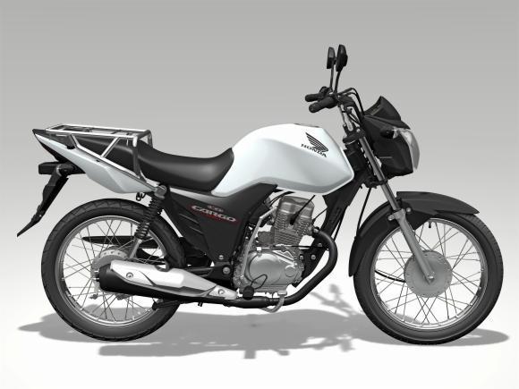 Honda lança motos CG 125 e 160 Cargo (Foto: Divulgação Honda)