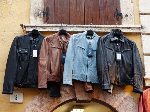 Modelos de jaquetas de couro para homens (Foto Ilustrativa)