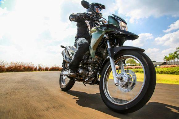 A XRE 190 é um dos principais laçamentos Honda Motos 2016 (Foto: Divulgação Honda)