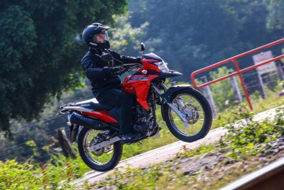 O preço da XRE 190 é de R$ 13.300 (Foto: Divulgação Honda)