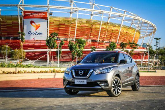 O Nissan Kicks é o carro oficial das Olimpíadas (Foto: Divulgação Nissan)