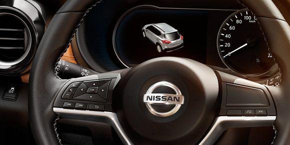 O painel de instrumentos tem uma tela digital (Foto: Divulgação Nissan)