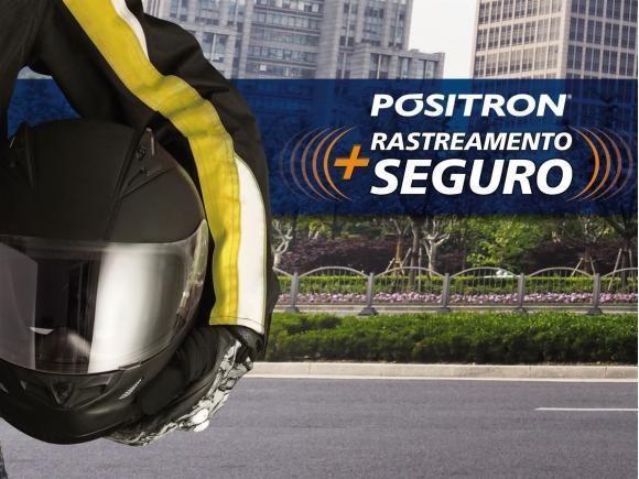Pósitron rastreamento com seguro para motos (Foto: Divulgação Pósitron)