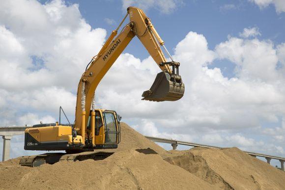 O curso de Operador de Escavadeira Hidráulica é uma das opções com aulas presenciais (Foto Ilustrativa)