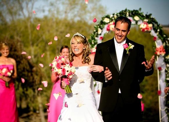 As cores agregam significado especial ao casamento. (Foto Ilustrativa)