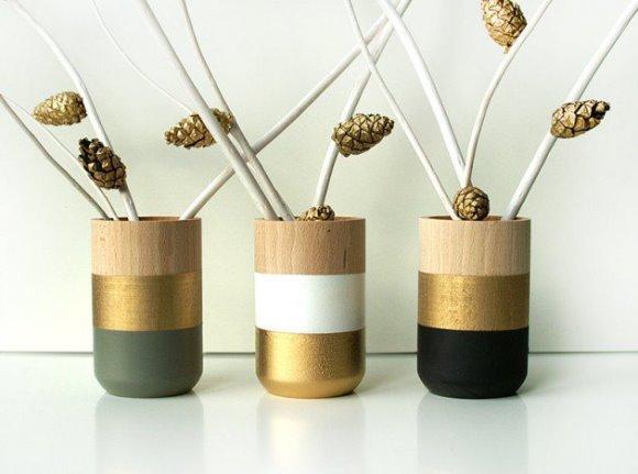 Vasos decorativos. (Foto: Reprodução/architectureartdesigns)