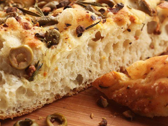 Torta italiana de azeitona. (Foto: Reprodução/Seriouseats)
