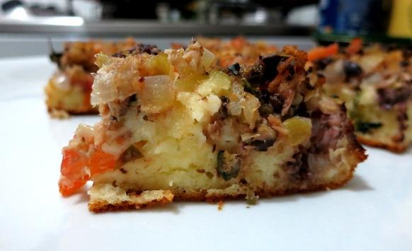 Torta de sardinha. (Foto: Reprodução/Só Pode Ser Gula)