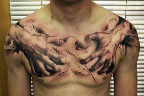 (Foto: Reprodução/ 3d-tattoodesign)