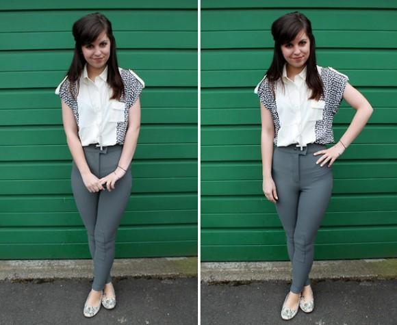 Calças para montaria com camisa. (Foto: Reprodução/Lookbook.nu)