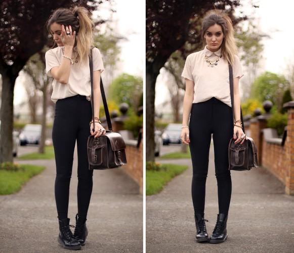 Calça montaria com blusa. (Foto: Reprodução/Lookbook.nu)