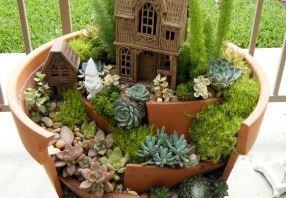 mini jardim apartamento:Como fazer um mini jardim para apartamentos