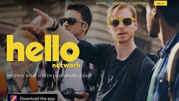 Hello Network promete ser o novo Orkut. (Foto: Reprodução/Hello)