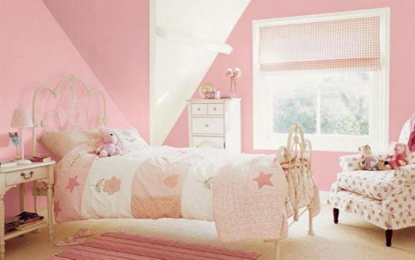 Decoração delicada com branco e rosa. (Foto: Reprodução/ homerepairhowto)