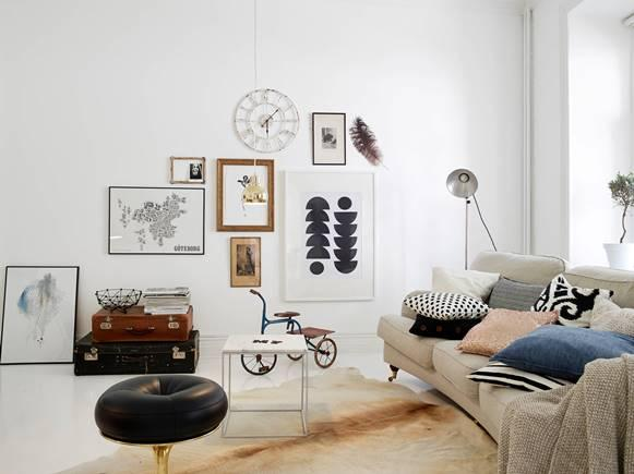 Inove a decoração com quadros e fotos. (Foto: Reprodução/emmahos)