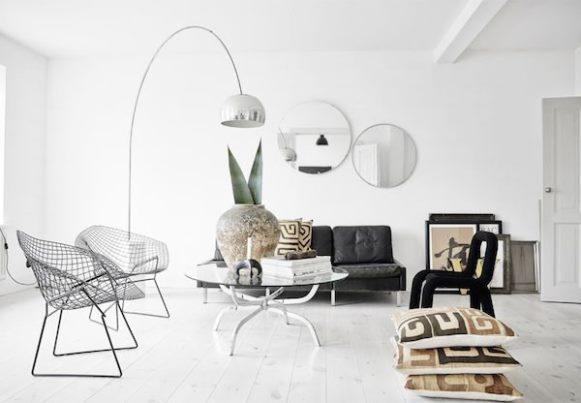 A decoração escandinava é simples e aconchegante. (Foto Ilustrativa)