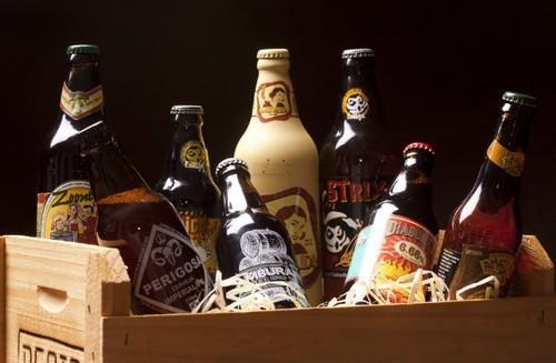 Cesta de cervejas artesanais um presente mais que especial (Foto: Divulgação MdeMulher)