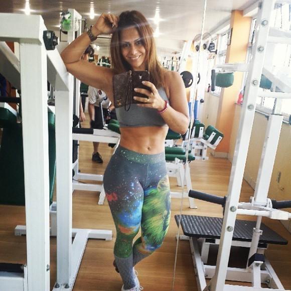 Viviane Araújo. (Foto: Reprodução/Instagram)