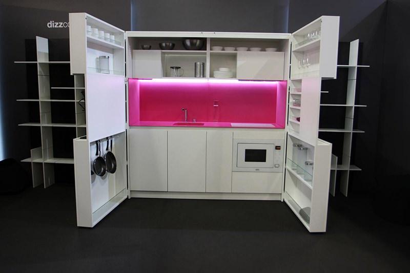 Cozinhas brancas planejadas e diferenciadas (Foto: Divulgação)