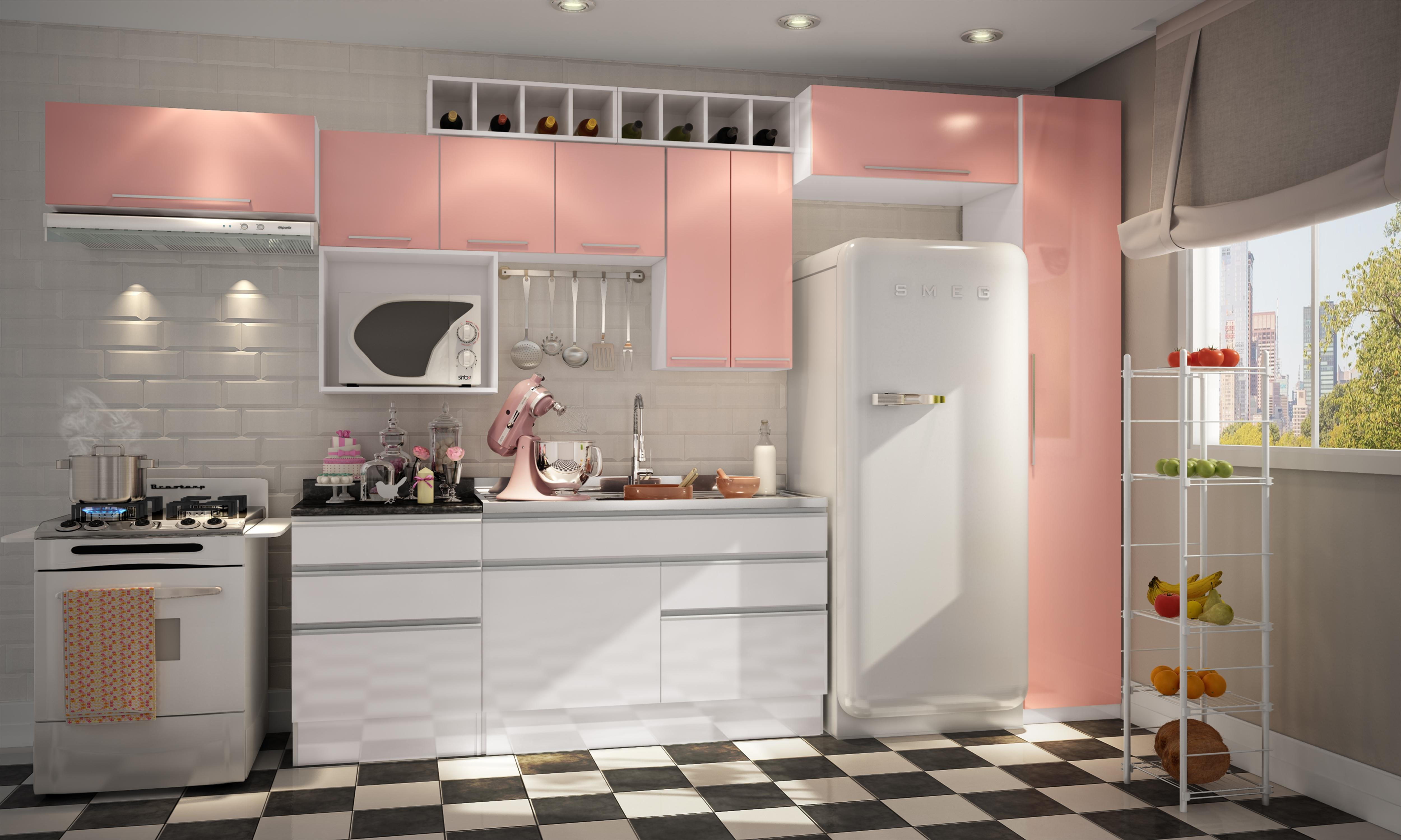 Aprenda a escolher as cozinhas planejadas (Foto: Divulgação)