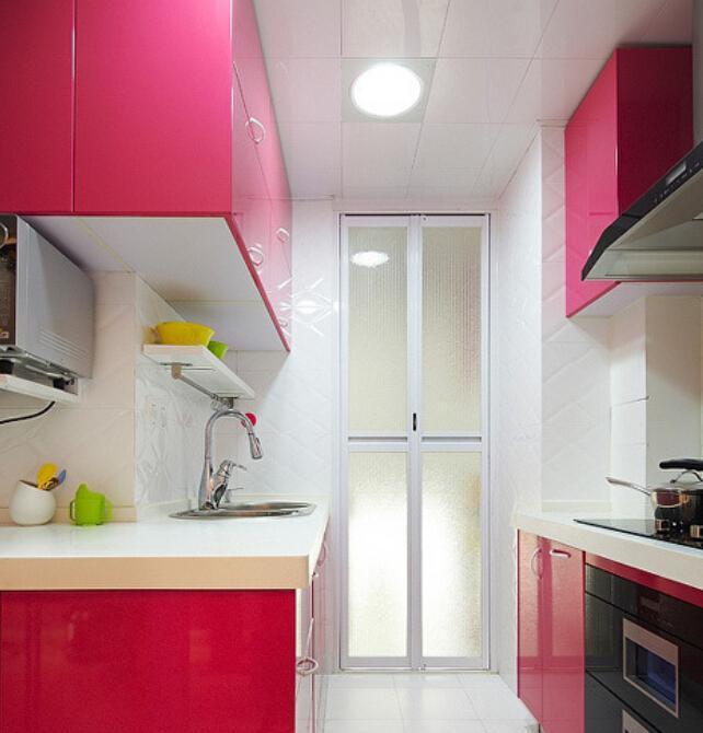 Cozinhas com cores mais vivas fazem a diferença (Foto: Divulgação)