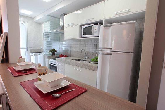 Cozinha em branco fica mais linda (Foto: Divulgação)