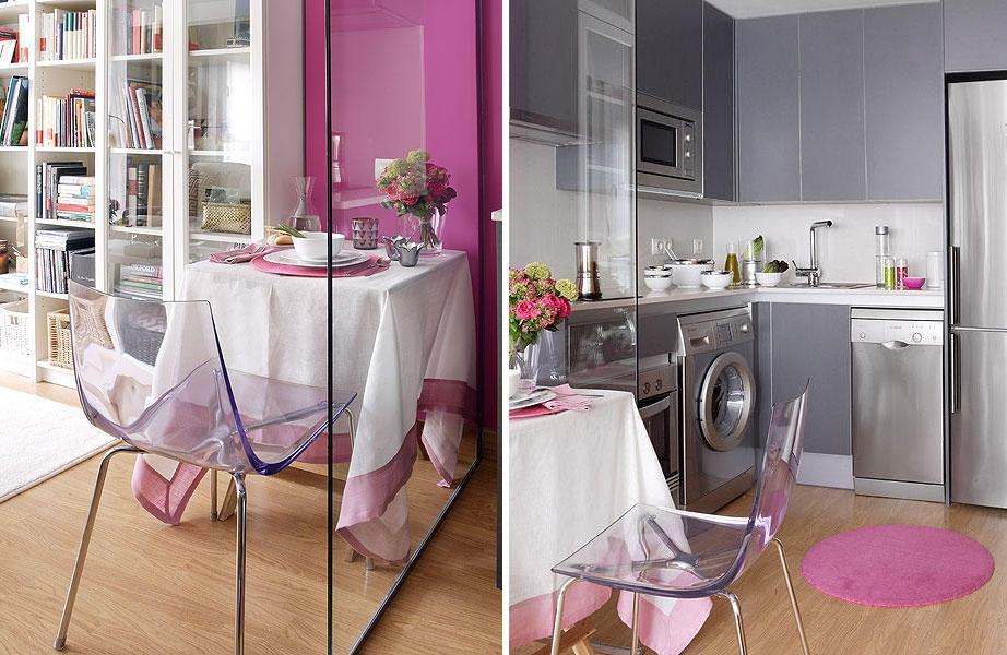 Exemplos de cozinhas delicadas (Foto: Divulgação)