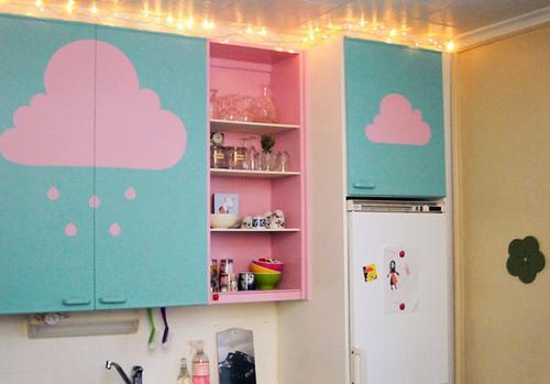 Adesivos podem deixar a sua cozinha diferente (Foto: Divulgação)