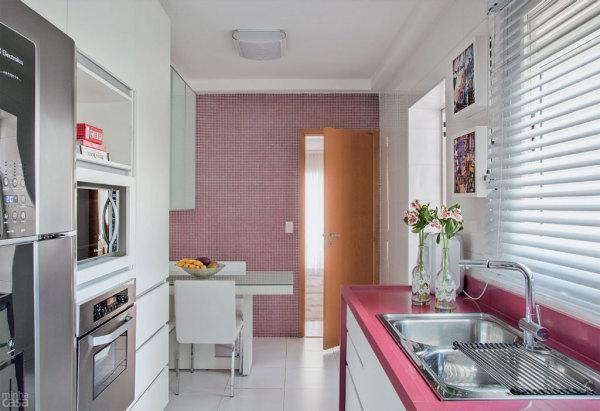 A cozinha planejada pode te ajudar a ficar com mais espaço no seu apartamento ou casa (Foto: Divulgação)
