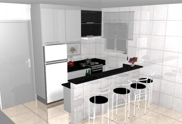 Uma cozinha branca bem planejada é a ideal para a maioria das pessoas que gostam desse estilo (Foto: Divulgação)