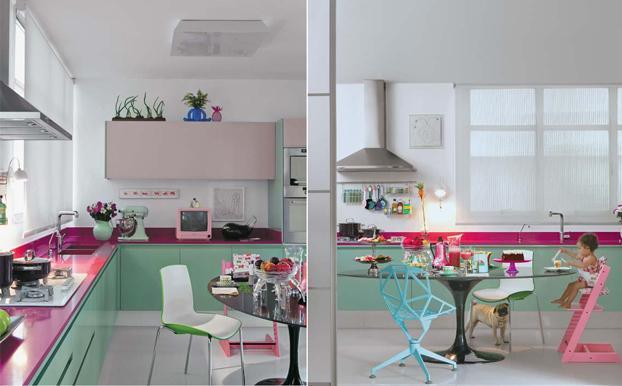 Os exemplos de cozinhas planejadas para você se inspirara e mesmo em um espaço pequeno fazer a diferença (Foto: Divulgação)