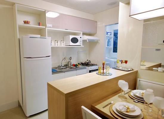 Veja cozinhas delicadas e planejadas (Foto: Divulgação)