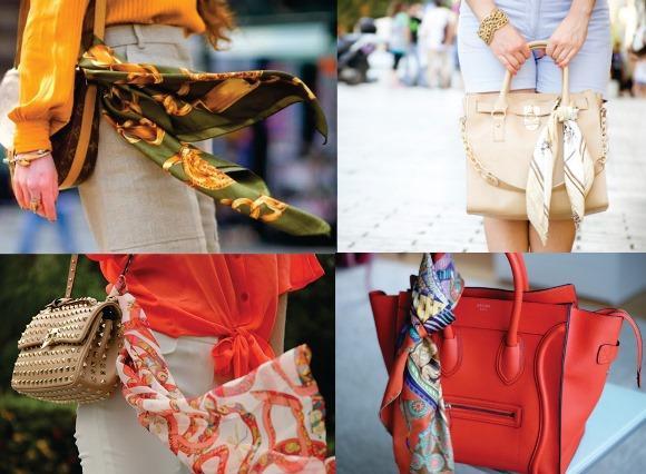 Lenço na bolsa: dicas e modelos 2016