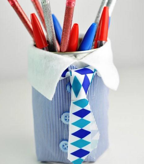 Porta Lápis para o Dia dos Pais (Foto: Divulgação)