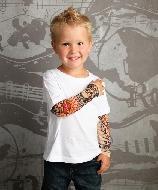Roupas com desenhos de Tattoos: tendências e fotos