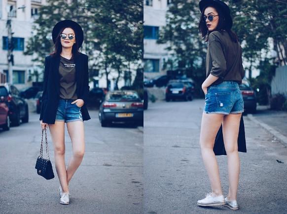 O blazer também pode ser usado para compor um look despojado. (Foto: Reprodução/Lookbook.nu)