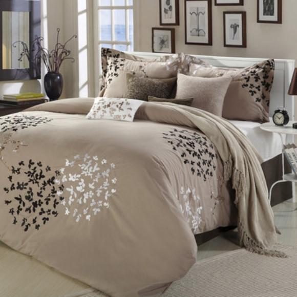 Roupa de cama neutra. (Foto: Reprodução/Safarimp)