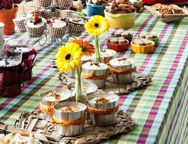 Toalha de mesa xadrez para festa Junina (Foto: Divulgação)