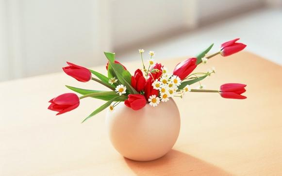 Deixe a casa mais bonita com vasos decorativos. (Foto: Foto/7-themes)