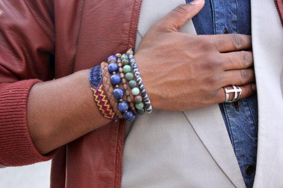 Outro exemplo de combinação com pulseiras (Foto Ilustrativa)