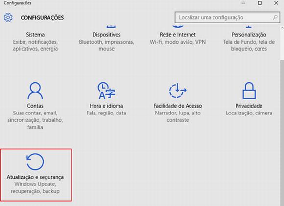 Acessar o modo de segurança no Windows 10 é diferente das outras versões (Foto: Reprodução Windows)