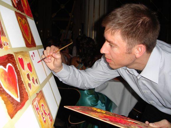 Pintar é uma excelente maneira de se expressar (Foto Ilustrativa)