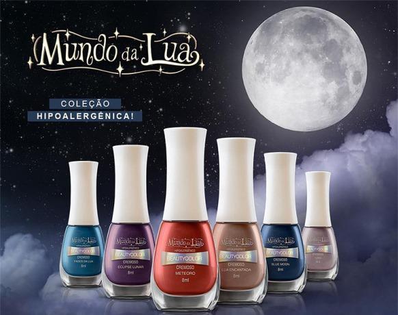 Esmaltes Beauty Color Mundo da Lua. (Foto: Reprodução/Beauty Color)