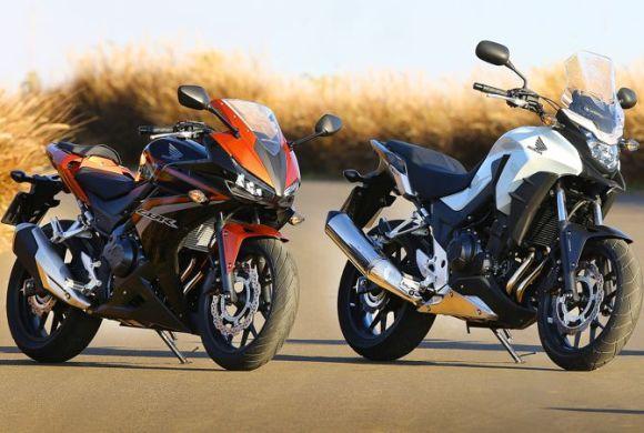 Honda atualiza motos CB 500: veja o que mudou (Foto: Divulgação Honda)
