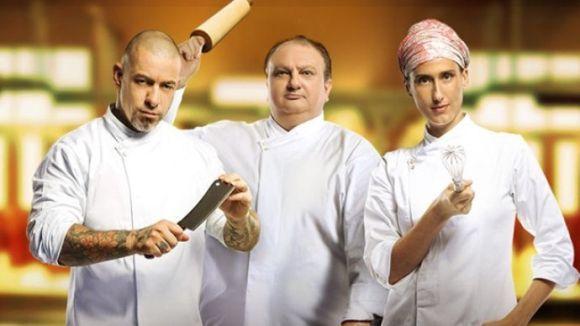 Os cozinheiros profissionais terão que passar pelo crivo dos jurados do reality (Foto: Divulgação Band)