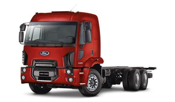 Novos caminhões Ford 2017