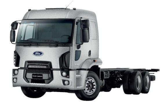 Novos caminhões Ford 2017 (Foto: Divulgação Ford)