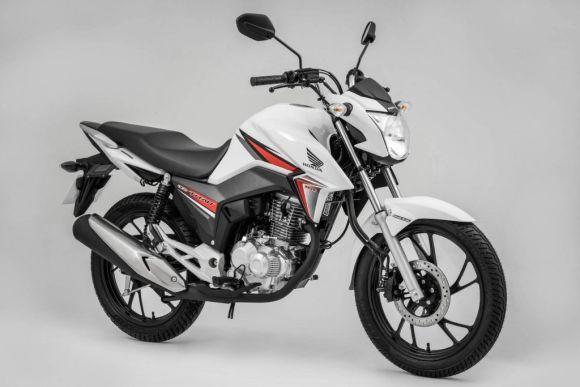 A Honda CG 160 aparece na liderança do ranking de motos mais vendidas (Foto: Divulgação Honda)