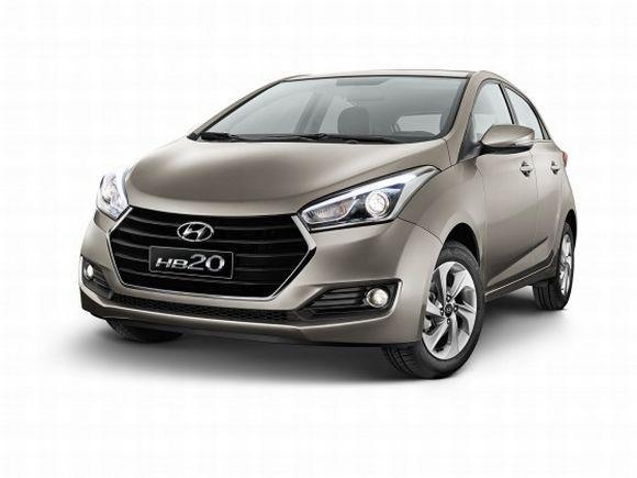 O HB20 foi o segundo carro mais vendido de maio (Foto: Divulgação Hyundai)